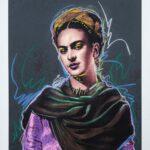 Frida Kahlo Gun Powder Maquette 2 of 4